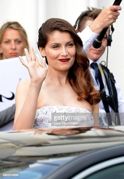 Laetitia Casta attends day 1 of the 67th Annual Cannes Film Festival on May 14 2014 in Cannes France