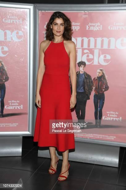 Laetitia Casta attends L'Homme Fidele Premiere at Mk2 Bibliotheque on December 17 2018 in Paris France