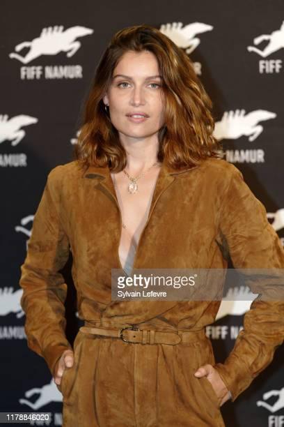 Laetitia Casta attends photocall during 34th Namur International FrenchLanguage Film Festival FIFF on October 03 2019 in Namur Belgium