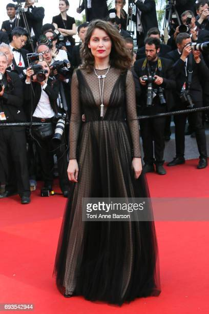 Laetitia Casta attends the 70th anniversary event during the 70th annual Cannes Film Festival at Palais des Festivals on May 23 2017 in Cannes France