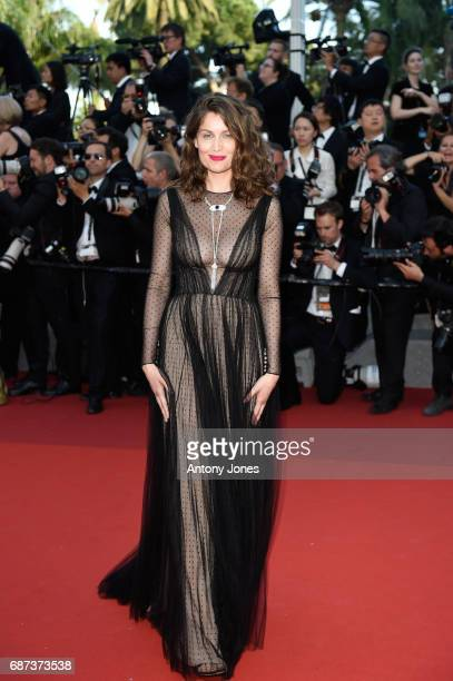 Laetitia Casta attends the 70th Anniversary of the 70th annual Cannes Film Festival at Palais des Festivals on May 23 2017 in Cannes France