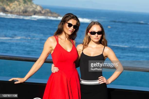 Laetitia Casta attends the 'A Faithful Man' Photocall during the 66th San Sebastian Film Festival in San Sebastian on September 22 2018 in San...