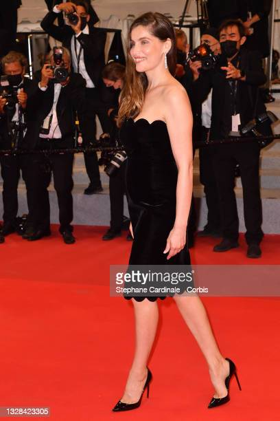 """Laetitia Casta attends the """"Bac Nord"""" screening during the 74th annual Cannes Film Festival on July 12, 2021 in Cannes, France."""