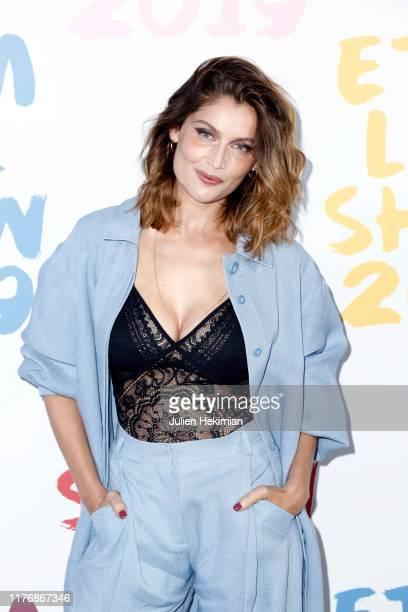 Laetitia Casta attends the Etam Winter 2019/Summer 2020 show as part of Paris Fashion Week on September 24 2019 in Paris France