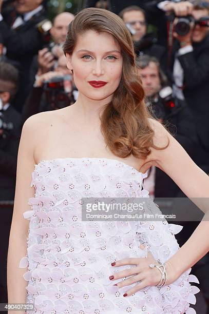 Laetitia Casta attends the Opening Ceremony and the Grace of Monaco premiere during the 67th Annual Cannes Film Festival on May 14 2014 in Cannes...