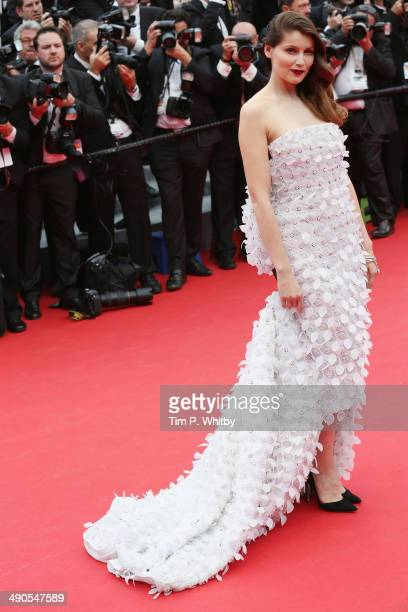 Laetitia Casta attends the Opening Ceremony and the 'Grace of Monaco' premiere during the 67th Annual Cannes Film Festival on May 14 2014 in Cannes...