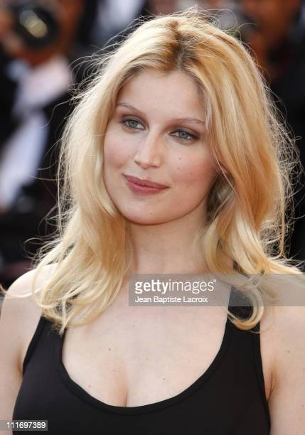 Laetitia Casta attends the premiere of ''Face'' at the Grand Theatre Lumiere during the 62nd Annual Cannes Film Festival on May 23 2009 in Cannes...