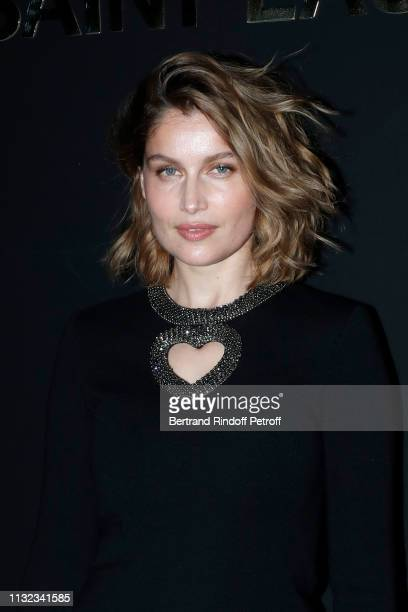 Laetitia Casta attends the Saint Laurent show as part of the Paris Fashion Week Womenswear Fall/Winter 2019/2020 on February 26 2019 in Paris France