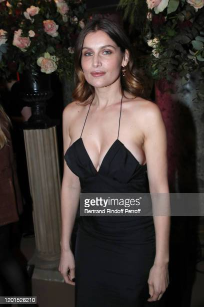 Laetitia Casta attends the Sidaction Gala Dinner 2020 at Pavillon Cambon on January 23 2020 in Paris France