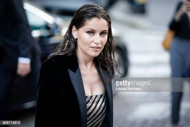 Laetitia Casta attends the Vogue Foundation Dinner during Paris Fashion Week Haute Couture Fall/Winter 20172018 on July 4 2017 in Paris France