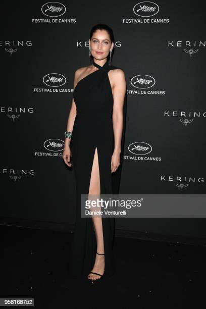 Laetitia Casta attends the Women in Motion Awards Dinner presented by Kering and the 71th Cannes Film Festival at Place de la Castre on May 13 2018...