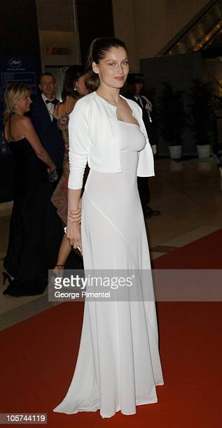 Laetitia Casta during 2005 Cannes Film Festival Opening Gala Dinner at Palais des Festival in Cannes France