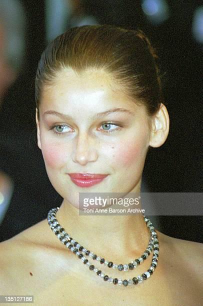 Laetitia Casta during Cannes 1999 File Photos at Palais des Festivals in Cannes France