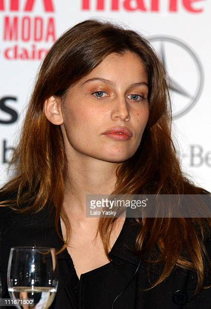 Laetitia Casta during Press Conference to Announce the 1st Annual Marie Claire Magazine Fashion Awards at Villa Magna Hotel in Madrid, Spain.