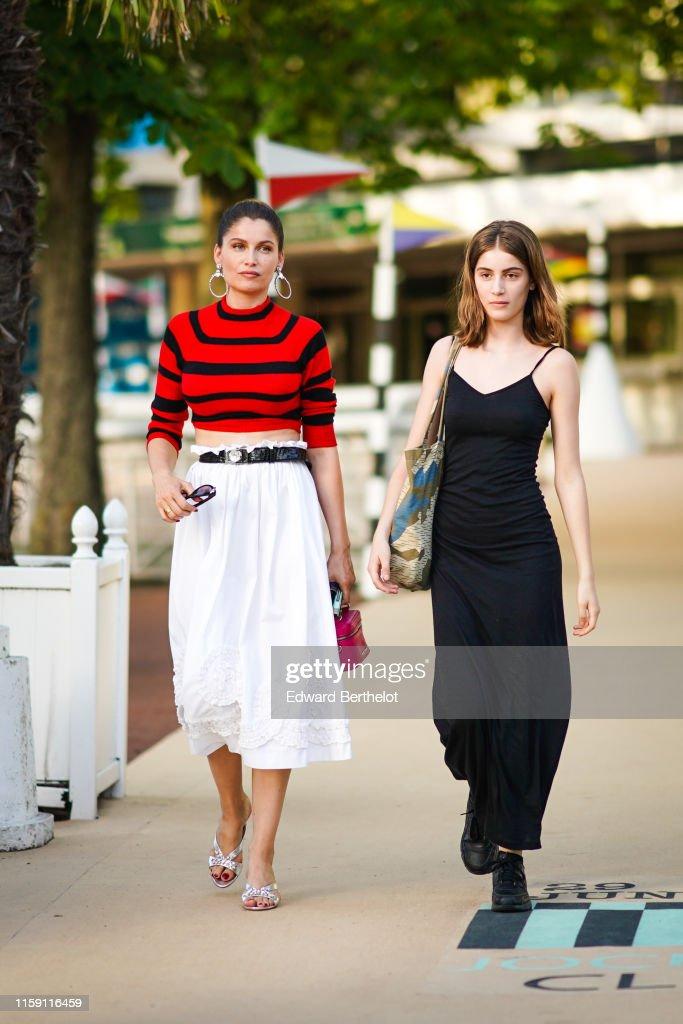 Street Style In Paris - June 2019 : Nachrichtenfoto
