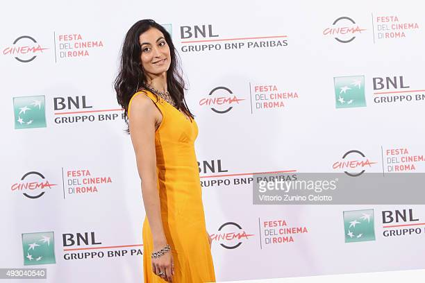 Laetitia Eido attends a photocall for 'Fauda' during the 10th Rome Film Fest at Auditorium Parco Della Musica on October 17 2015 in Rome Italy