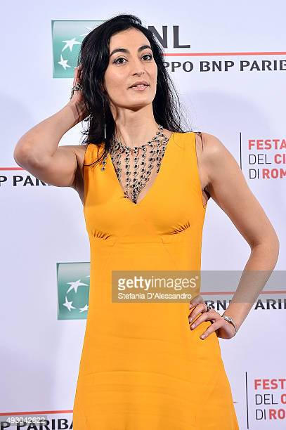 Laetitia Eido attends a photocall for 'Fauda' during the 10th Rome Film Fest on October 17 2015 in Rome Italy