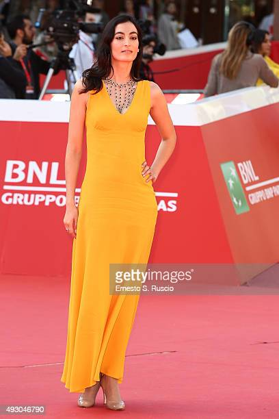 Laetitia Eido attends a red carpet for 'Fauda' during the 10th Rome Film Fest on October 17 2015 in Rome Italy
