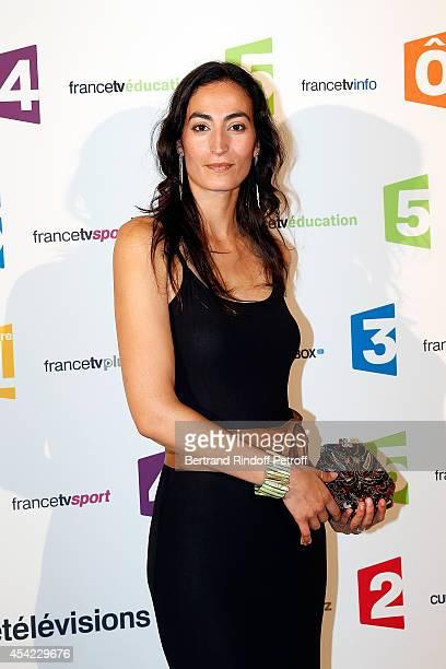 Laetitia Eido attends the 'Rentree De France Televisions' at Palais De Tokyo on August 26 2014 in Paris France