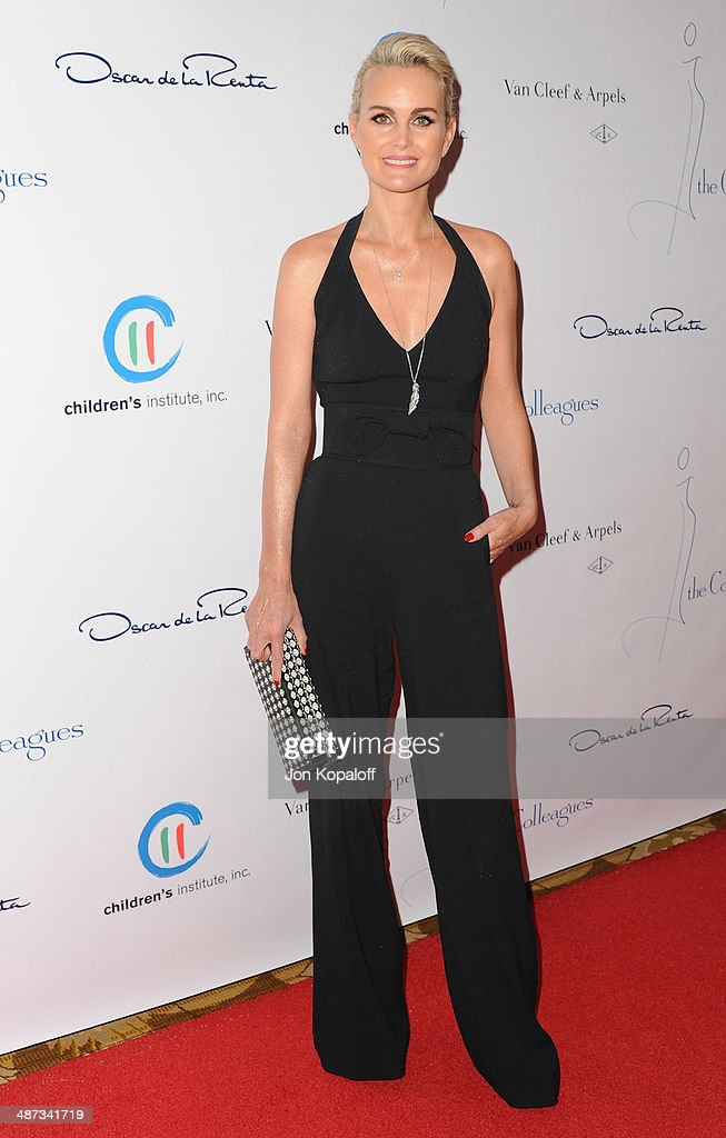 Laetitia Hallyday attends The Colleagues' 26th Annual Spring Luncheon at Regent Beverly Wilshire Hotel on April 29, 2014 in Beverly Hills, California.