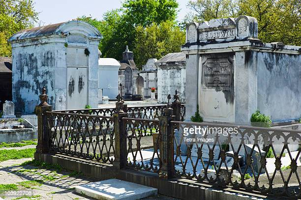 lafayette cemetery in new orleans - new orleans stock photos and pictures