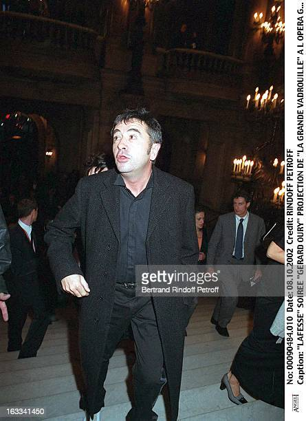 Lafesse 'Gerard Oury' film screening of 'La Grande Vadrouille' at the Garnier opera