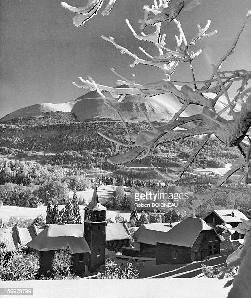 Laffrey and the Grand-Serre, 1962 in Laffrey, France.