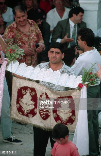 lag be omer celebrations in tunisia - lag baomer photos et images de collection