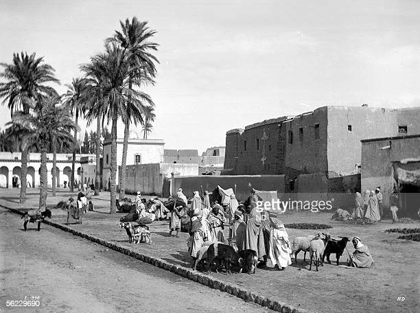 Laghouat The place of the market About 1900 ND 226