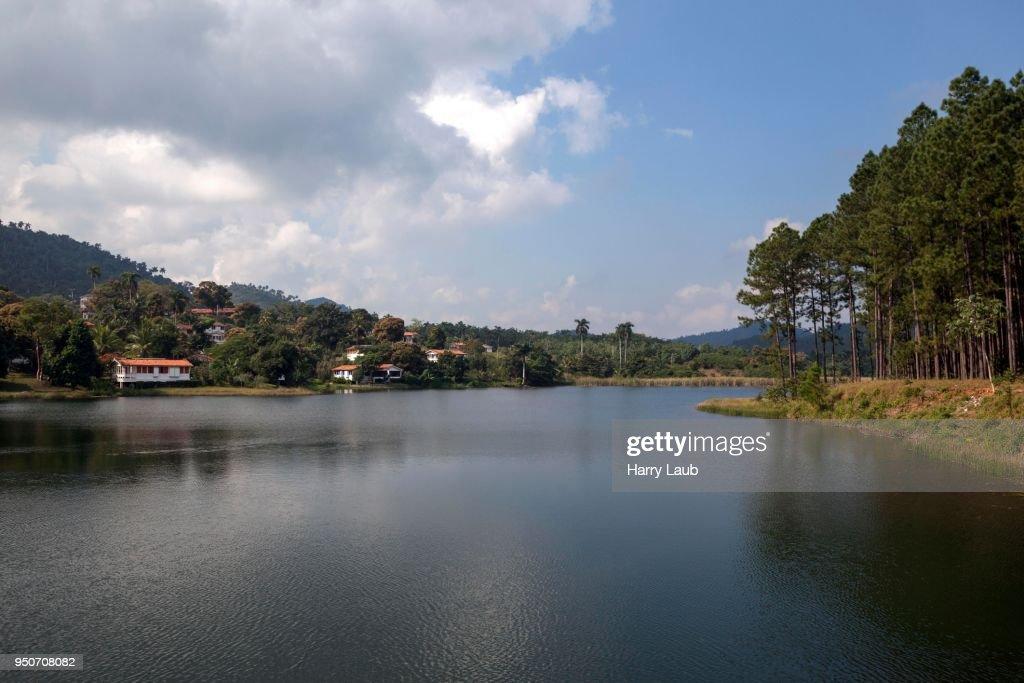 Lago Del San Juan Las Terrazas Artemisa Province Cuba High