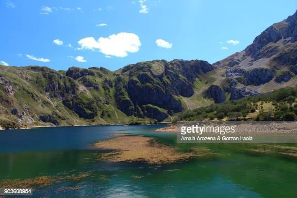 Lago del Valle glacial lake. Somiedo Natural Park, Asturias, Spain.
