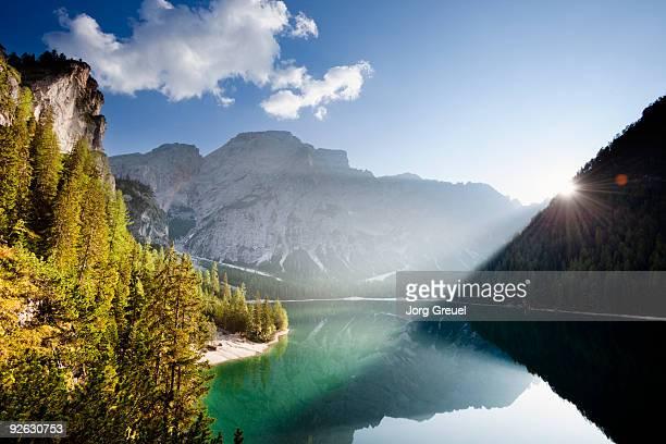 Lago di Braies Lake