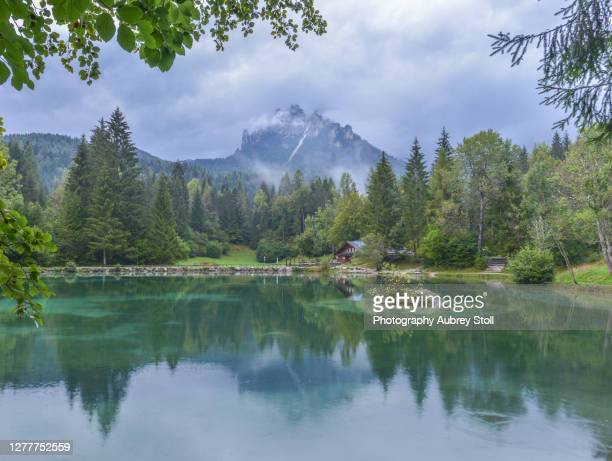 lago welsperg - san martino di castrozza - fotografias e filmes do acervo