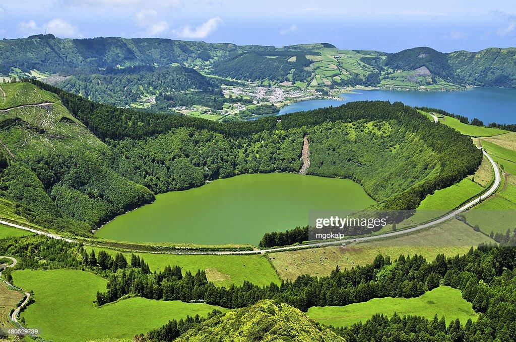 Lagoa de santiago : Stockfoto