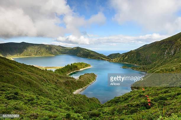 Lagoa do Fogo amazing landscape