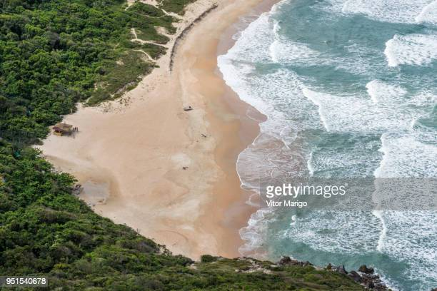 Lagoinha do Leste beautiful deserted beach in Florianopolis, Santa Catarina, Brazil