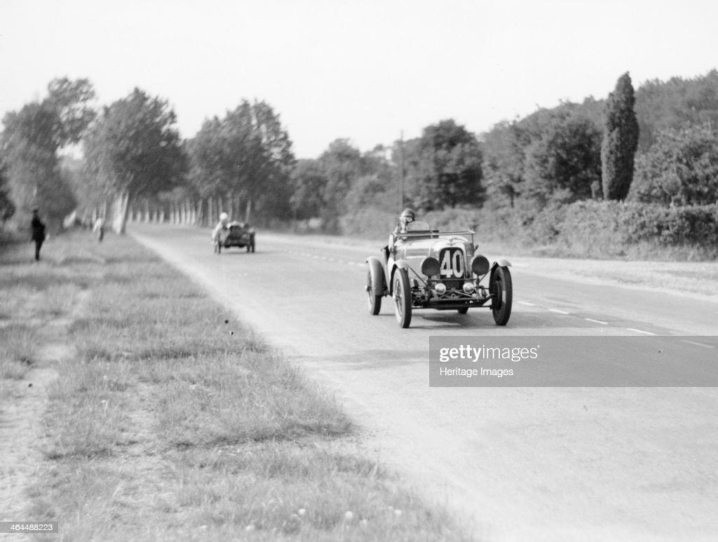 Lagonda Rapier Special, Le Mans 24 Hours, 1934. : News Photo