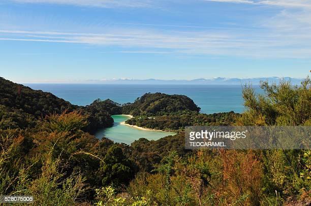 Lagoon in Abel Tasman National Park