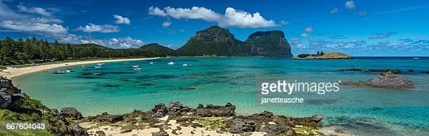 Lagoon, Lord Howe Island, New South Wales, Australia