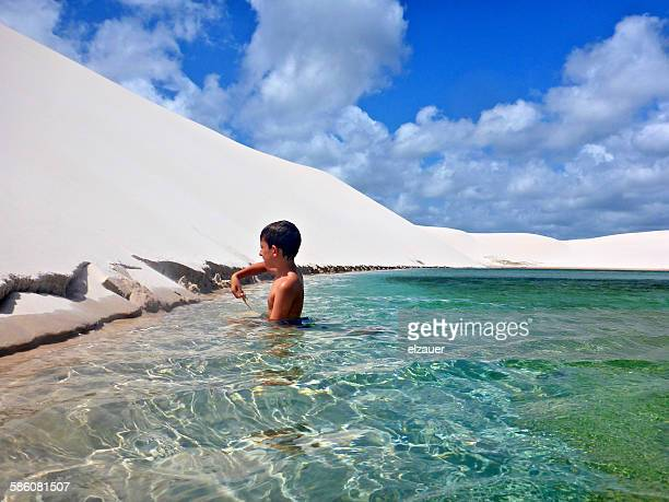 lagoon - maranhao state stock pictures, royalty-free photos & images