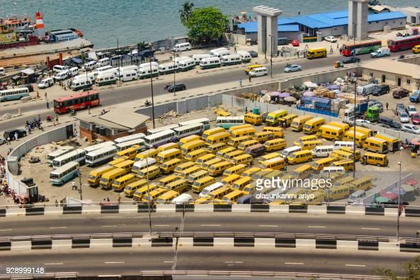 lagos commercial city - nigeria photos et images de collection