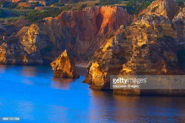 Lagos Dona Ana Beach Lagoa Praia da Dona Ana Algarve Portugal