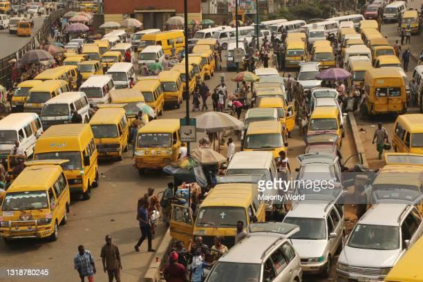 Lagos Motor Park, Nigeria.