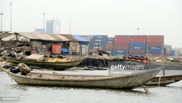 Lagos Port Complex is located at the Apapa area of Lagos on March 16 2016 in Lagos Nigeria West Africa