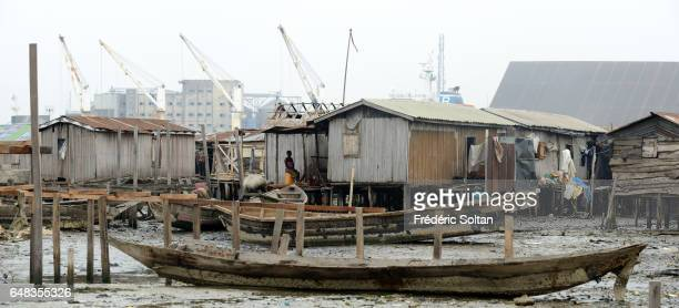 Lagos port complex is located at the Apapa area of Lagos on March 17 2016 in Lagos Nigeria