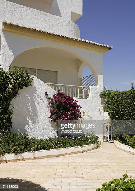 General view shows the apartment hotel building where Madelaine McCann disappeared in Praia da Luz southern Portugal 09 May 2007 Portuguese police...