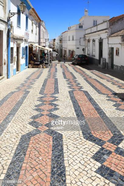 lagos street - portuguese culture stock pictures, royalty-free photos & images