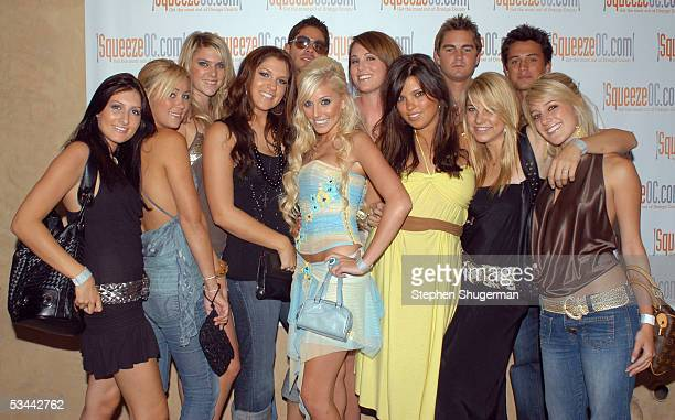 'Laguna Beach' cast members Jen Lauren Conrad Alex H Alex Murrel Sedrick Christina Schuller Dieter Schmitz Morgan SStephen Coletti and Heidi attend...