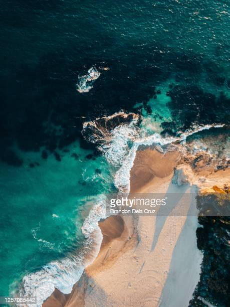 laguna beach from above - laguna beach california stock pictures, royalty-free photos & images