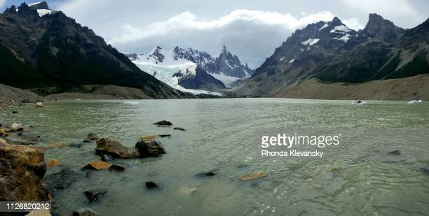 laguna torre, los glaciares national park, argentina - rhonda klevansky stock pictures, royalty-free photos & images